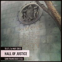Photo taken at Hall of Justice by Matthew B. on 5/6/2013