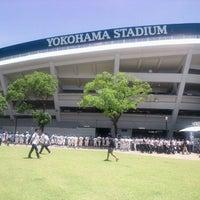 Photo taken at Yokohama Stadium by Norichika G. on 7/7/2013