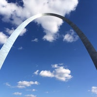 Photo taken at Gateway Arch by Justin P. on 10/17/2013