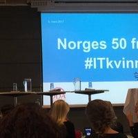 Photo taken at NHO - Næringslivets Hus by Vivi H. on 3/8/2017
