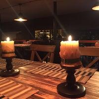 2/16/2018 tarihinde Мария С.ziyaretçi tarafından Opyata Food & Bar'de çekilen fotoğraf