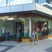 Photo taken at Café Marrón by Emerson B. on 1/27/2014