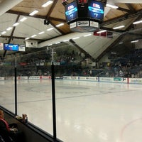 Photo taken at Alfond Arena by Tiffany K. on 12/1/2012