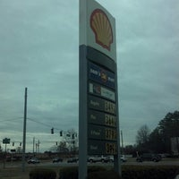 Photo taken at Shell by MsShae G. on 3/22/2013