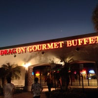Photo taken at Dragon Gourmet Buffet by Jinkwon L. on 2/11/2014