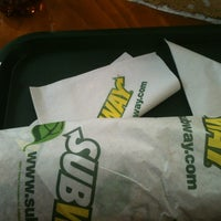 Photo taken at Subway by Lalo T. on 12/5/2012