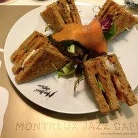 Photo taken at Montreux Jazz Cafe by Simon P. on 5/24/2013