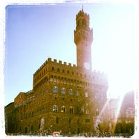 Photo taken at Piazza della Signoria by Dennis M. on 1/29/2013
