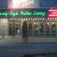 Photo taken at Buca di Beppo by jason on 12/31/2012