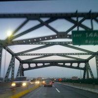 Photo taken at General Pulaski Skyway by Tina W. on 9/30/2012