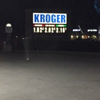 Photo taken at Kroger Fuel Center by Andre T. on 10/16/2016