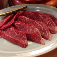 Photo taken at 炭火焼肉 じろう by sanpasky on 2/20/2015