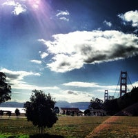 Photo taken at Cavallo Point by Tiffany W. on 2/4/2014