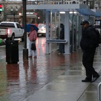 Photo taken at COTA Bus Stop @ Broad & High by Mark M. on 4/8/2015