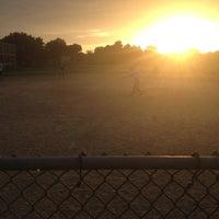 Photo taken at Kissena Park Softball Fields by Sara D. on 6/24/2013
