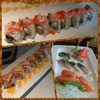 Photo taken at Domo Japanese Restaurant & Sushi Bar by Eaton B. on 5/5/2013
