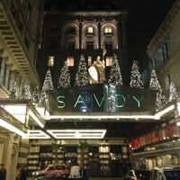 Photo taken at The Savoy Hotel by Benj S. on 12/7/2012