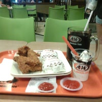 Photo taken at A&W by Aldy A. on 10/12/2012