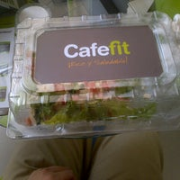 Photo taken at Café Fit by Alfonso M. on 7/16/2013