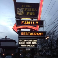 Photo taken at Ye Olde Pizza Pub by Adam B. on 11/2/2013