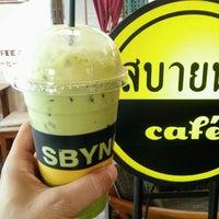 Photo taken at สบายนม Café2 by Aquapatindra V. on 2/15/2018
