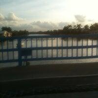 Photo taken at Camino Real Bridge by Brian B. on 12/17/2012