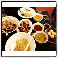 Photo taken at Wongmin Noodle by Art T. on 9/10/2013
