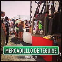 Photo taken at Mercadilllo de Teguise by Dipak D. on 4/21/2013