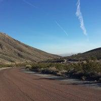 Photo taken at McKelligon Canyon by Judith P. on 1/20/2014