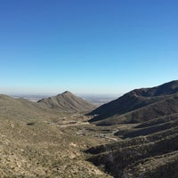 Photo taken at McKelligon Canyon by Judith P. on 1/16/2014