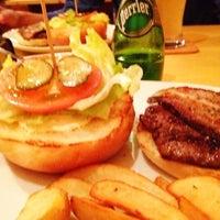 Photo taken at Sakura Burger by Weinasi on 11/2/2012