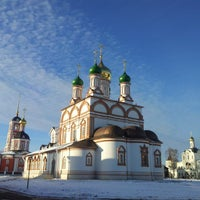 Photo taken at Троице-Сергиев Варницкий монастырь by Олег С. on 10/25/2014