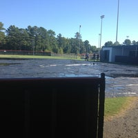 Photo taken at Hendrix Softball Field by Natalie M. on 9/21/2013