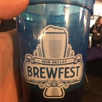 Photo taken at Mid-Valley Brewfest by Ryan S. on 10/21/2017