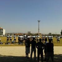 Photo taken at Centro Esportivo Jardim Simus by Leticia M. on 9/1/2013