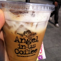 Photo taken at Angel-in-us Coffee by JeongAn C. on 10/30/2012