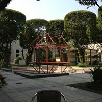 Photo taken at ADB Courtyard by Michael L. on 1/24/2013