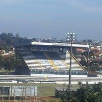 Photo taken at Estádio Germano Krüger by Cátia R. on 5/11/2013