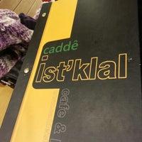 Foto tomada en Cadde İstiklal Pasta & Cafe por Baran A. el 12/17/2012