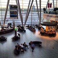 Photo taken at Budapest Liszt Ferenc International Airport (BUD) by Marek Z. on 5/8/2013
