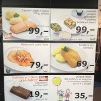 Photo taken at IKEA restaurace by Marek Z. on 3/6/2013