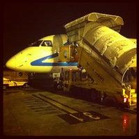 """Photo taken at Aeroporto di Verona """"Valerio Catullo"""" (VRN) by Witold R. on 2/21/2013"""