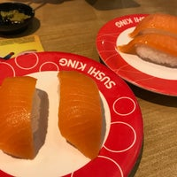 Photo taken at Sushi King by Chuah San Ling on 6/15/2018