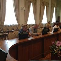 Photo taken at Администрация Выборгского района by Askar S. on 6/20/2013