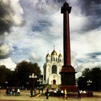Снимок сделан в Площадь Победы пользователем Nikita V. 9/20/2012