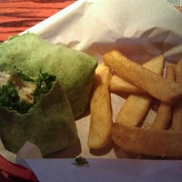 Photo taken at Red Robin Gourmet Burgers by Mary Beth B. on 5/4/2013