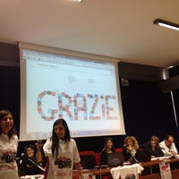 Photo taken at Centro Congressi Parma by Giulia M. on 10/13/2012