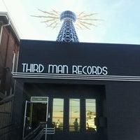 Photo taken at Third Man Records by Tasha Y. on 12/1/2012