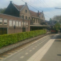 Photo taken at Station Overveen by Edo P. on 5/11/2015
