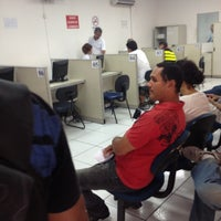 Photo taken at Detran by Thiago M. on 5/13/2013
